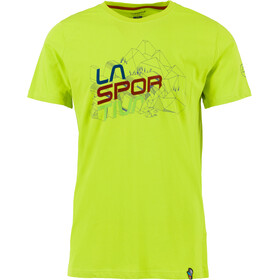 La Sportiva Cubic T-Shirt Homme, apple green